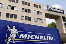 Michelin a annoncé mardi son entrée au capital de Luli Information Technology, start-up chinoise spécialisée dans le covoiturage, pour un montant non dévoilé. /Photo d'archives/REUTERS/Régis Duvignau