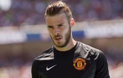 Goleiro do Manchester United David De Gea. 28/072015 Action Images via Reuters / Mark Avery