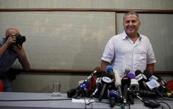 Former Brazil soccer player Zico arrives for a news conference in Rio de Janeiro, Brazil, June 10, 2015. REUTERS/Pilar Olivares