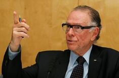 Olympics - Rio 2016 Press Conference - St Martins Lane Hotel, London - 1/9/15 President of the Organising Committee for Rio 2016, Carlos Nuzman during the press conference Action Images via Reuters / Paul Childs