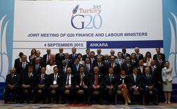 Reunião do G20 em Ancara, Turquia. 4/9/2015 REUTERS/Umit Bektas