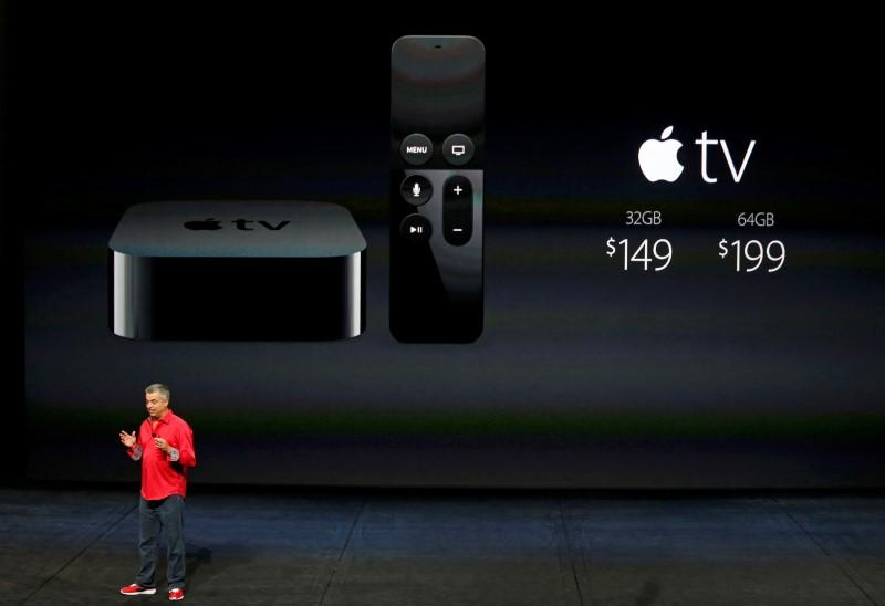 Apple aims to conquer living room with new Apple TV - Reuters