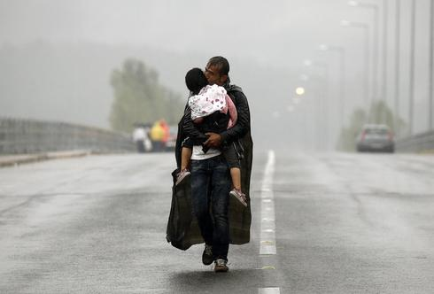 Rain and refugees