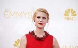 """Claire Danes, do elenco de """"Homeland"""", em cerimônia de premiação do Emmy em Los Angeles. 25/08/2014  REUTERS/Lucy Nicholson"""
