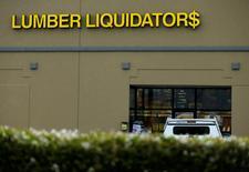 A Lumber Liquidators store is shown in San Marcos, California March 2, 2015. REUTERS/Mike Blake