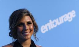 """Actress Jamie-Lynn Sigler attends the premiere of the fifth season of """"Entourage"""" presented by HBO at the Ziegfeld Theater in New York September 3, 2008. REUTERS/Joshua Lott"""