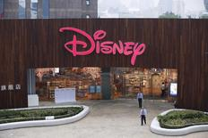 Loja da Disney no distrito de Pudong, em Xangai.   20/05/2015     REUTERS/Aly Song