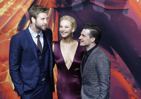 Hunger Games world premiere