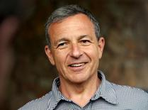Disney CEO Bob Iger smiles as he arrives for the the annual Allen and Co. media conference Sun Valley, Idaho July 7, 2015.  REUTERS/Mike Blake - RTX1JH73