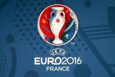 Logo da Euro 2016 é apresentado durante entrevista coletiva em Paris. 26/06/2013 REUTERS/Charles Platiau