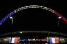 Estádio de Wembley, palco do amistoso entre Inglaterra e França. 16/11/2015 Action Images via Reuters / Henry Browne