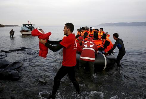 Syrians seek refuge