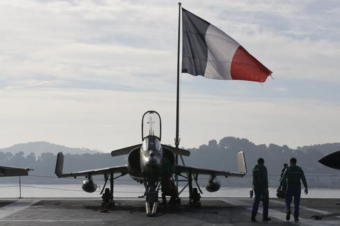 France strikes Islamic State