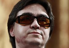 Sergei Filin, diretor russo de balé que ficou parcialmente cego após ser atacado com ácido em 2013. 17/09/2013 REUTERS/Maxim Shemetov