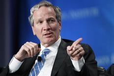 """Alan Schwartz, executive chairman of Guggenheim Partners, takes part in a panel discussion titled """"The Entertainment Industry: A Billion Ideas in Search of an Audience"""" at the Milken Institute Global Conference in Beverly Hills, California May 2, 2012. REUTERS/Danny Moloshok"""