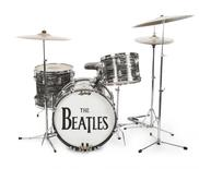 A studio drum set played by Ringo Starr, the first Ludwig Oyster Black Pearl drum kit, used for the Beatles' early recordings is shown in this photo released on December 2, 2015. A drum kit played by Ringo Starr is seen fetching millions of dollars at auction this week as part of a sale of items belonging to the Beatle and his wife, Barbara Bach. REUTERS/Julien's Auctions/Handout via Reuters    ATTENTION EDITORS - THIS PICTURE WAS PROVIDED BY A THIRD PARTY. REUTERS IS UNABLE TO INDEPENDENTLY VERIFY THE AUTHENTICITY, CONTENT, LOCATION OR DATE OF THIS IMAGE. EDITORIAL USE ONLY. NOT FOR SALE FOR MARKETING OR ADVERTISING CAMPAIGNS. NO RESALES. NO ARCHIVE. THIS PICTURE IS DISTRIBUTED EXACTLY AS RECEIVED BY REUTERS, AS A SERVICE TO CLIENTS. MANDATORY CREDIT