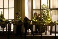 Hotel Baur au Lac hotel, onde a polícia da Suíça prendeu dirigentes da Fifa em Zurique. 03/12/2015 REUTERS/Arnd Wiegmann