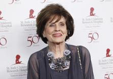 Actress Marjorie Lord poses at the benefit gala for the 50th anniversary of St. Jude Children's Research Hospital in Beverly Hills, California, January 7, 2012. REUTERS/Danny Moloshok