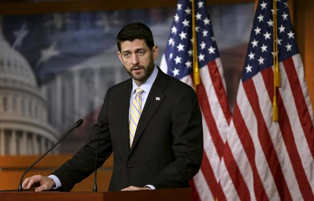 U.S. Speaker of the House Paul Ryan (R-WI) holds a news conference on Capitol Hill in Washington December 10, 2015. REUTERS/Gary Cameron