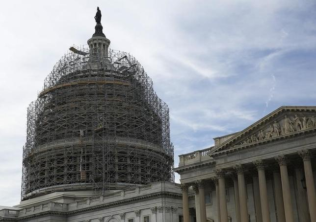The United States Capitol dome in Washington  in a file photo.       REUTERS/Gary Cameron