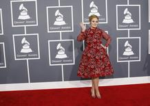 """In just a few short days, Adele's song """"Hello"""" became one of the most popular music videos of the year. Adele also became the fastest-trending musician on search with the release of her new album """"25"""", with over 439 million searches on Google.      REUTERS/Mario Anzuoni"""