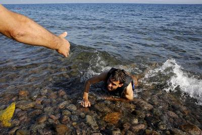 Pictures of the year: Migrant crisis