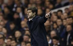 Técnico do Tottenham Hotspur, Mauricio Pochettino, durante partida da Liga Inglesa.  26/12/2015 Action Images via Reuters / Andrew Couldridge Livepic