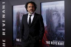 """Diretor González Iñárritu no lançamento do filme """"The Revenant"""", em Hollywood 8/1/2016  REUTERS/Mario Anzuoni"""