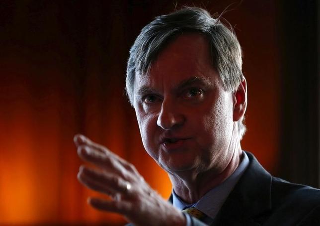 1月7日、エバンズ米シカゴ地区連銀総裁は年内2回の利上げを支持する考えを示した。写真は2015年6月撮影。(2016年 ロイター/ Jim Young)
