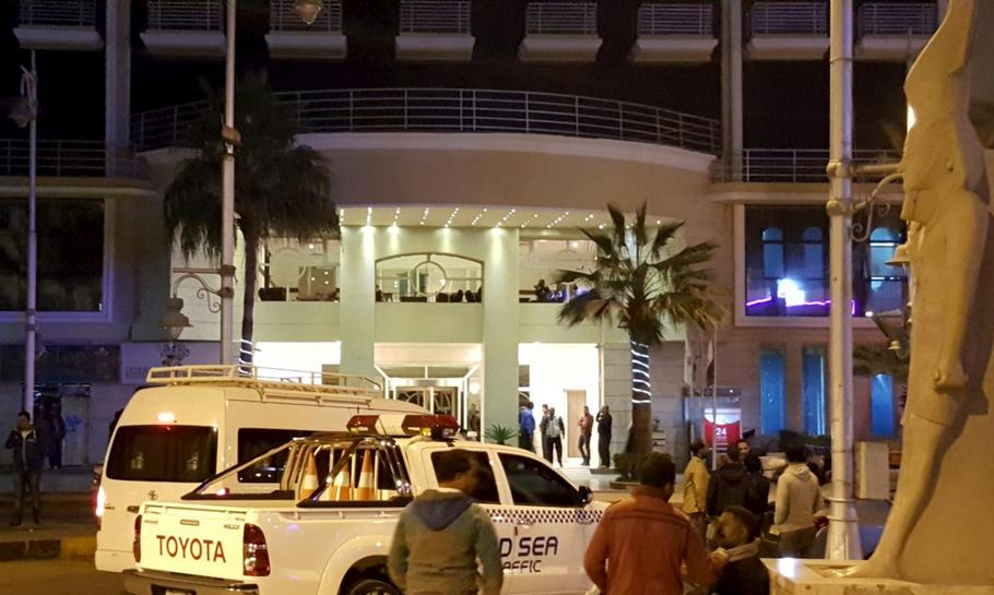 Foreign tourists wounded in attack at Egyptian Red Sea resort