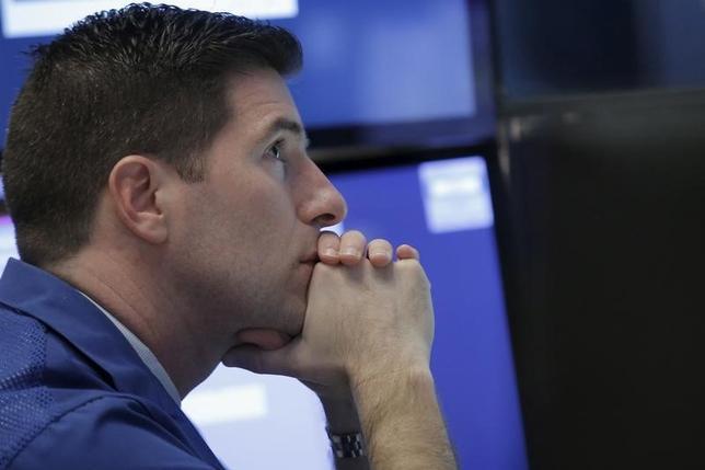 1月11日から始まる週の米国株式市場は、年初としては最悪のスタートとなった前週に続き、積極的な買いが入るのは難しい週になりそうだ。NY証取で8日撮影(2016年 ロイター/Brendan McDermid)