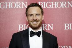 International Star Award recipient actor Michael Fassbender poses at the 27th Annual Palm Springs International Film Festival Awards Gala in Palm Springs, California, January 2, 2016. REUTERS/Danny Moloshok