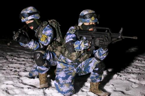 Chinese marines' desert operations point to long-range ambitions