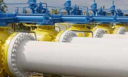 Газоизмерительная станция под Ужгородом. 27 мая 2015 года. Украина хочет до конца января провести переговоры с Газпромом о повышении тарифов на транзит российского газа, сказал генеральный директор Нафтогаза Андрей Коболев. REUTERS/Gleb Garanich
