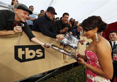 Priyanka Chopra at American award shows