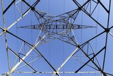 La consommation d'électricité en France a progressé de 0,5% en 2015 après trois années de stabilité, portée par des industries telles que l'automobile et la métallurgie. /Photo prise le 1er décembre 2015/REUTERS/Régis Duvignau