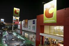 Casino annonce la cession de sa participation dans l'exploitant d'hypermarchés thaïlandais Big C Supercenter au conglomérat thaïlandais TCC pour 3,1 milliards d'euros hors dette. /Photo prise le 27 janvier 2016/REUTERS/Athit Perawongmetha