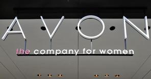 La sede de Avon, en Nueva York, 21 de junio de 2013. Avon Products Inc reportó una caída mayor a la esperada en ventas trimestrales debido a que la demanda de sus cosméticos disminuyó aún más en América Latina, su mayor mercado. REUTERS/Brendan McDermid