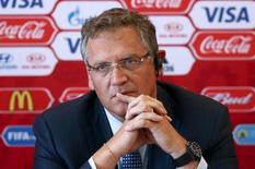 Ex-secretário-geral da Fifa Jérôme Valcke. 10/06/2015 REUTERS/Maxim Zmeyev