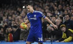 Terry durante jogo do Chelsea contra o Newcastle United.  13/2/16. Reuters/Toby Melville