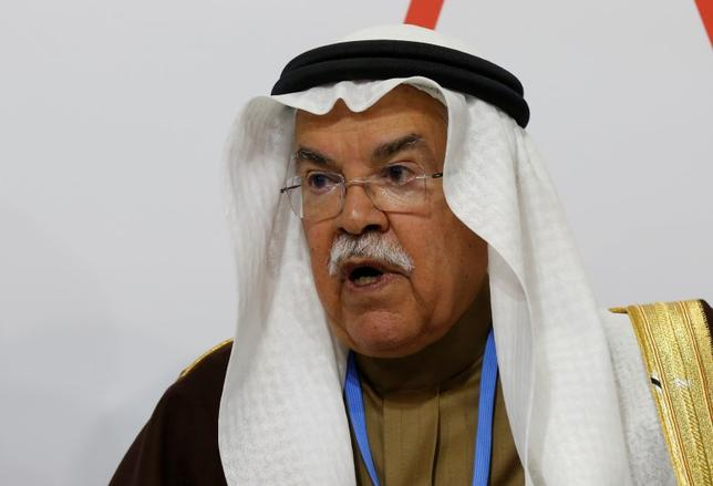 Saudi Arabia's Oil Minister Ali al-Naimi attends a meeting at the U.S. Center during the World Climate Change Conference 2015 (COP21) at Le Bourget, near Paris, France, December 8, 2015.  REUTERS/Jacky Naegelen
