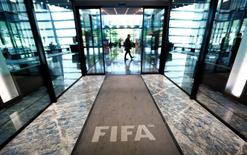 The hall of FIFA headquarters is pictured after the Extraordinary FIFA Executive Committee Meeting in Zurich, Switzerland July 20, 2015. REUTERS/Arnd Wiegmann