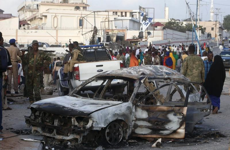 Death toll in Somali Islamist attack at least 14, police says