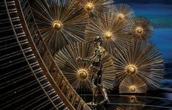 C3PO durante la 88 entrega de los Premios de la Academia en Hollywood. REUTERS/Mario Anzuoni