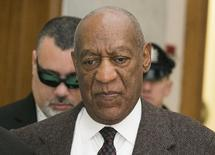 Actor and comedian Bill Cosby arrives for the second day of hearings at the Montgomery County Courthouse in Norristown, Pennsylvania February 3, 2016. REUTERS/Ed Hille/Pool
