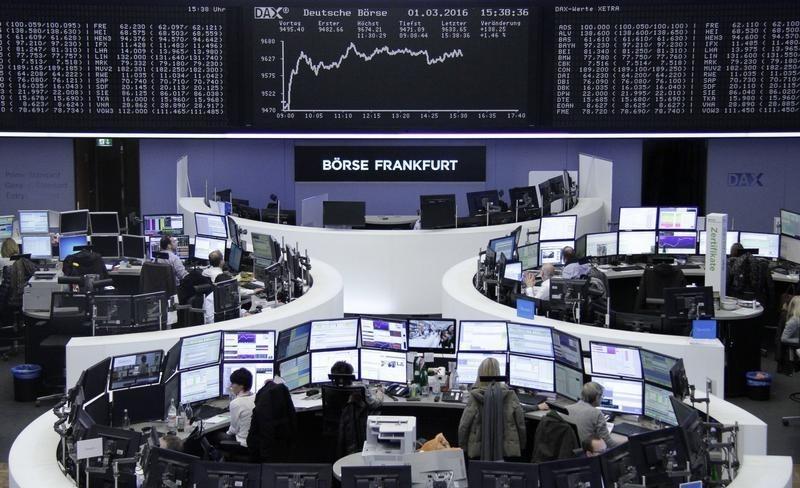 European shares snap winning streak as Evonik tumbles on weak