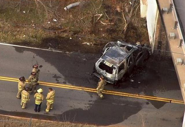 Energy pioneer McClendon dies in fiery car crash, a day after