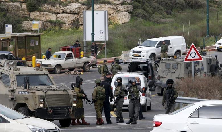 Three Palestinians attack Israelis in West Bank, shot...