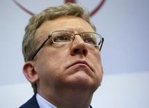 Russia's former Finance Minister Alexei Kudrin attends a session of the Gaidar Forum 2016 'Russia and the World: Looking to the Future' in Moscow, Russia, January 14, 2016. REUTERS/Sergei Karpukhin