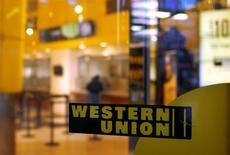 Una sucursal de Western Union en Nueva York. 30 de julio de 2013. Western Union Co dijo el lunes que se expandirá en Cuba, en momentos en que el presidente de Estados Unidos, Barack Obama, inició una histórica gira mientras ambos países intentan reconstruir su relación bilateral. REUTERS/Shannon Stapleton